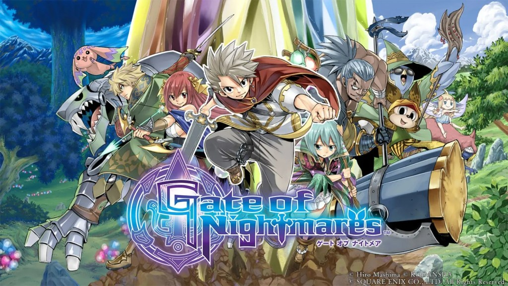 Square Enix x Hiro Mashima's Gate of Nightmares Mobile Game Launches on October 26
