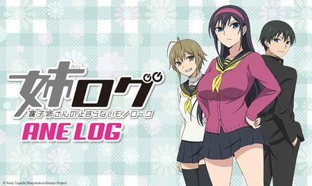 Sentai Filmworks Licenses Escha Chron, Ane Log OVAs
