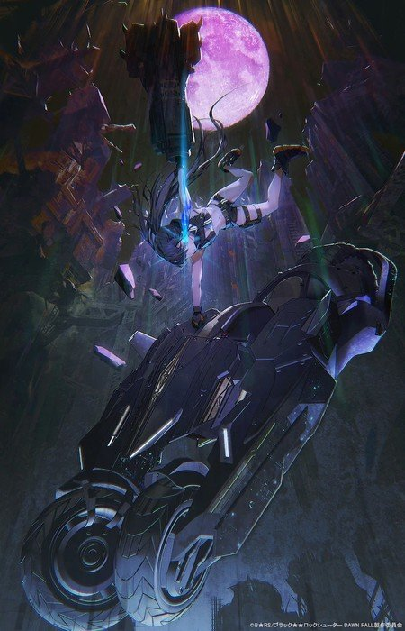 Artist huke Launches New Black Rock Shooter Anime Project