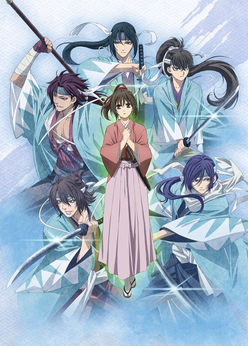 Hakuōki Original Video Anime Unveils Teaser, Staff, Cast, Dates, Song Artists